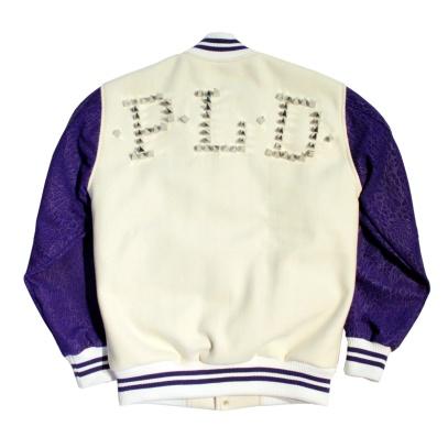 Purple Varsity Back